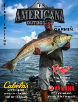 Americana Outdoor Magazine First Edition