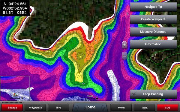 Garmin LakeVü HD Ultra Mapping -600wi