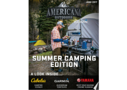 The Summer Camping Edition of Americana Outdoors Magazine.