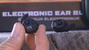 Walker's Silencer Earbuds left and right earbuds