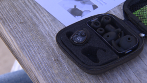 Walker's Silencer Earbuds - Carrying Case with Earbuds