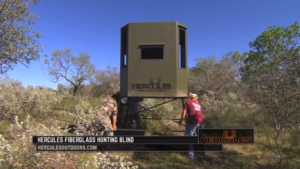 Bow Hunt with Lucas Hoge - Hercules Outdoors Industries Hunting Blind