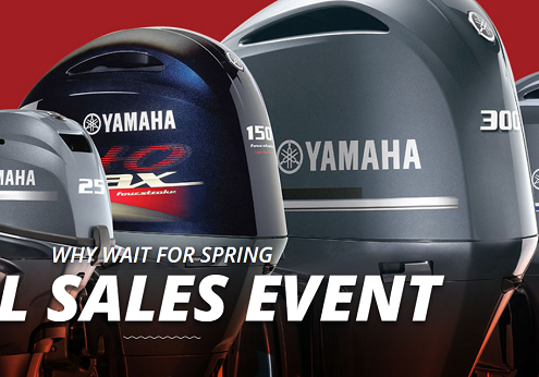 Yamaha's Fall Sales Event