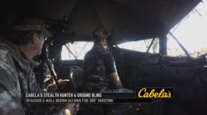 Bow Hunt with Lucas Hoge - Cabela's Stealth Hunter 6D Ground Blind