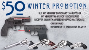 Smith & Wesson Winter Promotion