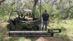 HME 360 Degree Swiveling Shaft